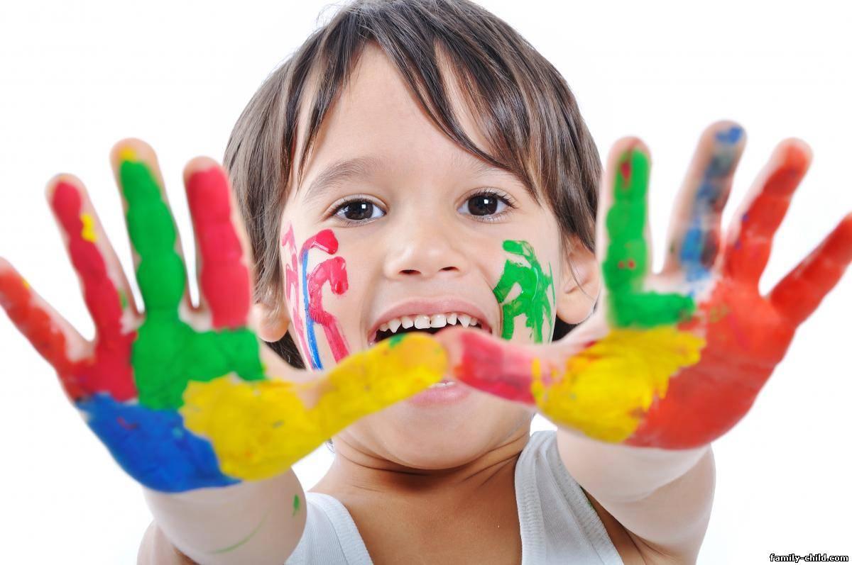 Разноцветный мир конкурс для детей и родителей